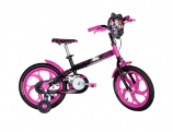 Bicicleta Caloi Monster High Aro 16