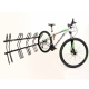 Bicicletário Altmayer de parede p/ 5 bicicletas AL-22G