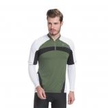 Camisa de Ciclismo Masculina Sol Tension + Manguito